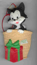 Disney Pinocchio Figero the CAT Ornament rare - $15.99