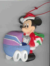 Disney Mickey with baby carriage Ornament - $15.99