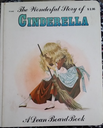 Primary image for The Wonderful Story Of Cinderella Book A Dean Board Book Vintage 1979 Rare