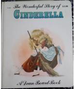 The Wonderful Story Of Cinderella Book A Dean Board Book Vintage 1979 Rare - $19.99