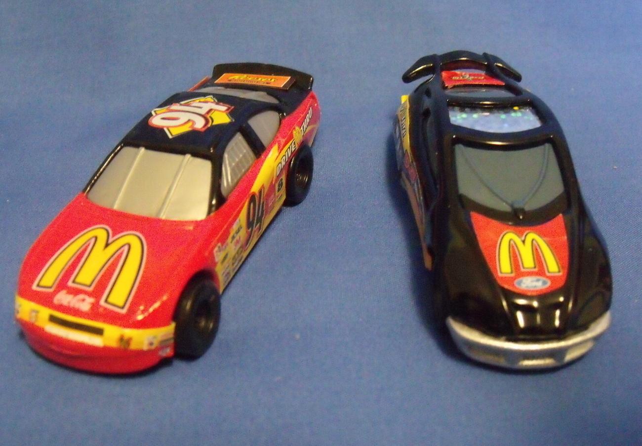 Hot wheels cars 2 mcdonalds