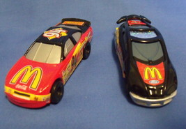Toys Mattel 1999 Hot Wheels McDonalds 2 Racing Cars - $12.95