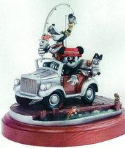 Disney Mickey Goofy Pluto Fishing Pewter Make Offer - $812.49