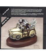 Disney Mickey & Minnie Surfing Pewter LE Figurine - $499.99