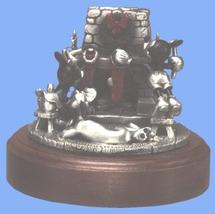 Disney Mickey Minnie & Pluto Pewter Stocking Figurine - $312.49