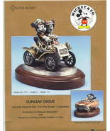 Disney Mickey & Minnie Model Tcar Pewter LE 350 B/O - $749.99