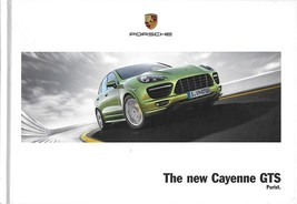 2012/2013 Porsche CAYENNE GTS hardcover sales brochure catalog BOOK US 12 - $20.00