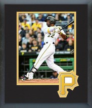 Andrew McCutchen 2016 Pittsburgh Pirates - 11 x 14 Team Logo Matted/Framed Photo - $42.95