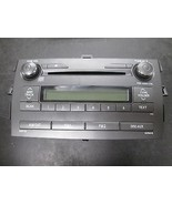 09 10 TOYOTA COROLLA RADIO CD MP3 PLAYER #86120-02E60 *See item descript... - $79.20