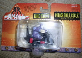 Small Soldiers Die Cast Power Drill Cycle Mint ... - $19.34