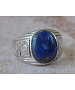 Handcrafted lapis lazuli middle eastern egyptia... - $38.61