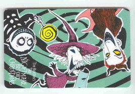 Disney Nightmare Before Christmas LSB Bookmark - $1.99