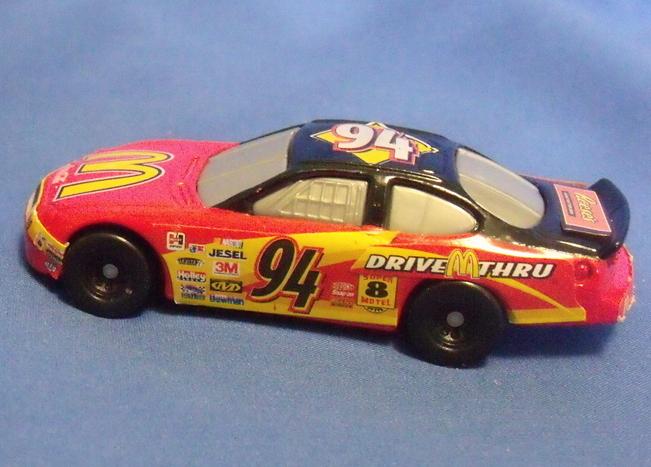 Toys Mattel 1999 Hot Wheels McDonalds 2 Racing Cars