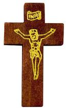 Crucifix Pocket Cross Wood 1 3/4 inch tall Crosses (Pack of 100) - $29.65