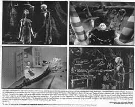 Nightmare Before Christmas Press Release Photo rare - $15.99