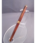 Vintage brown lacquer ST S.T. Dupont rollerball pen - $450.00