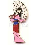 Disney Mulan with Umbrella full body Pin/Pins - $24.74