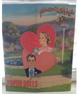 Here's The Bride Wedding Retro Paper Doll Book NEW FUN repro of 1950's c... - $18.00