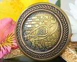 Raven bird brooch pin book of kells patrick conlin brass bronze 1996 thumb155 crop