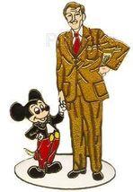 Disney Walt & Mickey Partners Statue pin/pns - $74.99
