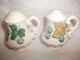 Metlox Poppytail VINEYARD Salt & Pepper Shakers Vernon Ware Calif Vintage - $19.79