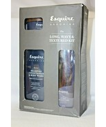 Esquire Grooming 3 Piece The Long Wavy Textured Kit, New Opened Box - $24.50