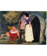 Disney Snow White & 7 Dwarfs Doc outside cottage - $0.99