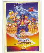 Disney Aladdin & Jamime with full cast Poster - $1.99
