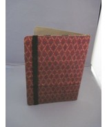 Rustic fabric ebook or tablet cover - $25.00