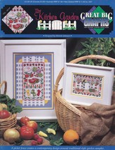 The Kitchen Garden, Great Big Graphs Cross Stitch Pattern Booklet VCL-20147 - $5.95
