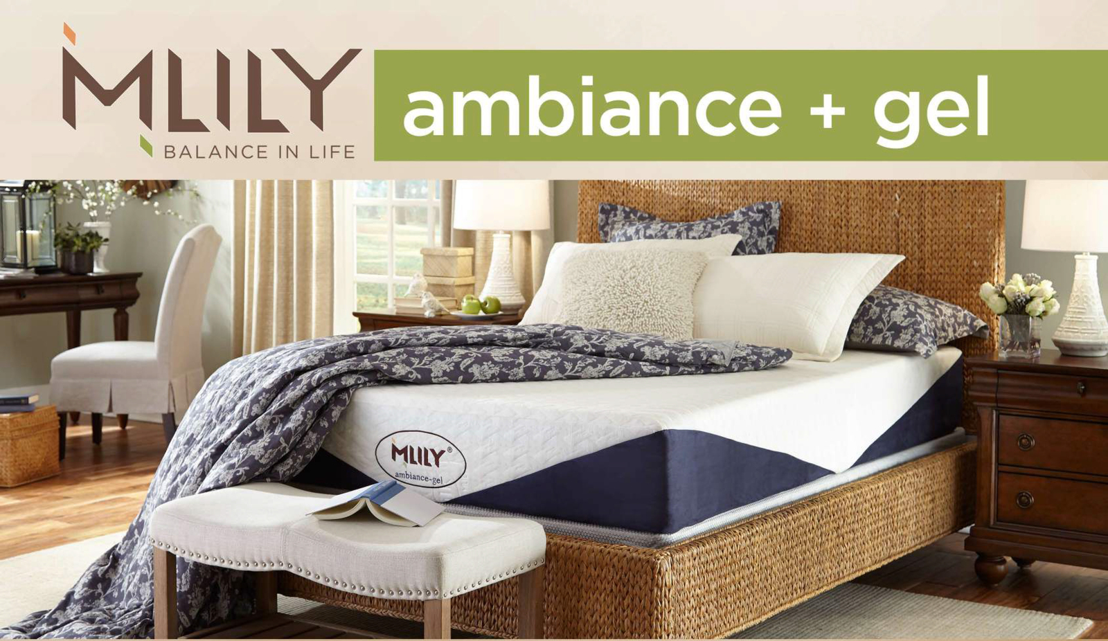 MLILY Memory Foam Mattress - Ambiance - King