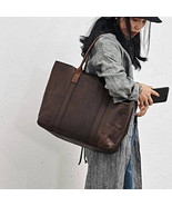On Sale, Handmade Women Tote Bag, Full Grain Leather Shoulder Bag - $265.00