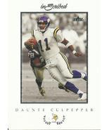 2004 Fleer Inscribed #22 Daunte Culpepper - $0.50