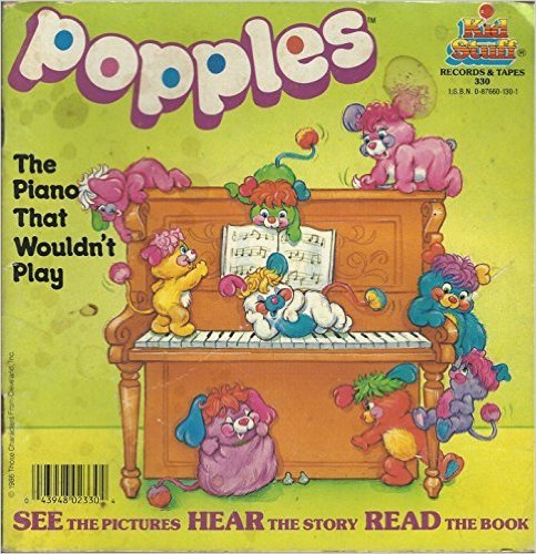 Primary image for Popples The Piano That Wouldn't Play 1986 Vintage Rare Childrens Book