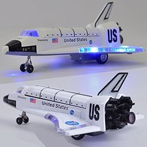 Ailejia Space Shuttle Scale Model Kit Orbiter Ship Diecast Space Shuttle Toy Col image 4