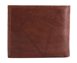 Tommy Hilfiger Men's Extra Capacity RFID Leather Traveler Wallet Tan 31TL240006 image 5