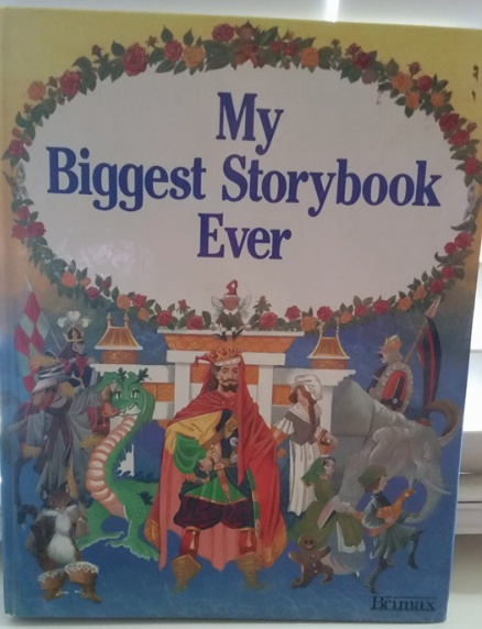 Primary image for My Biggest Story Book Ever 1989 Vintage Childrens Book Rare By Pamela Story