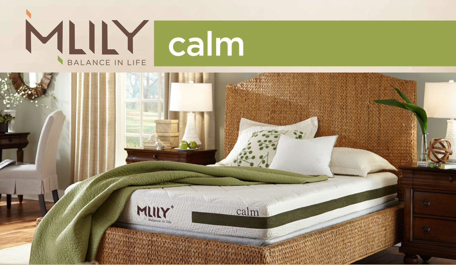 MLILY Memory Foam Mattress - Calm - Queen