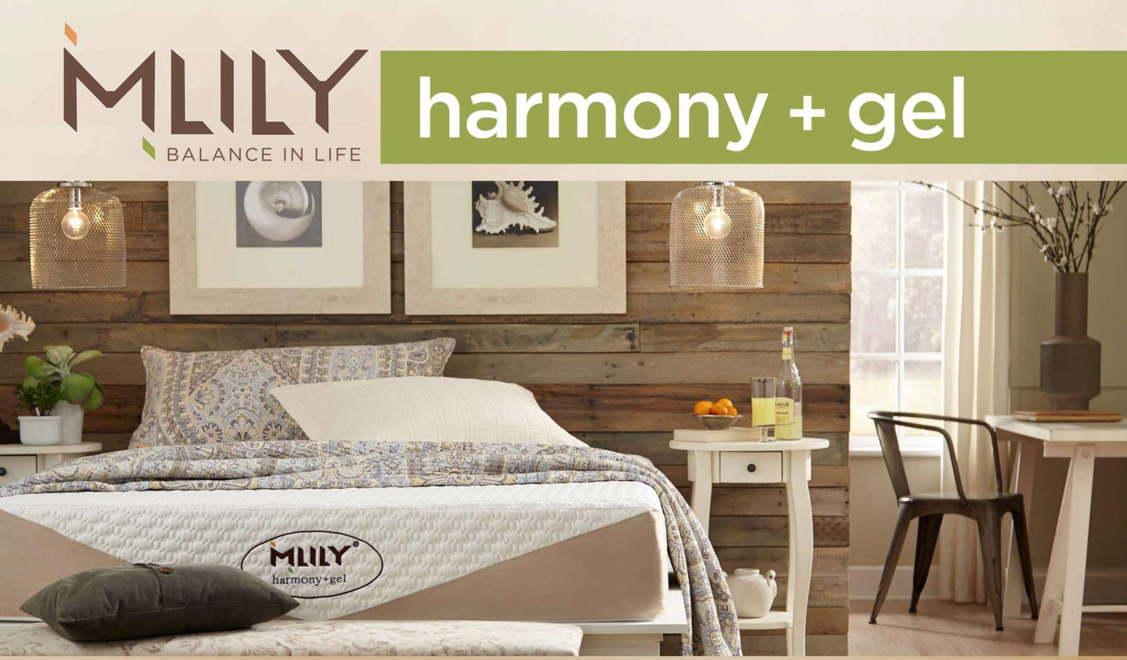 MLILY Memory Foam Mattress - Harmony - Queen