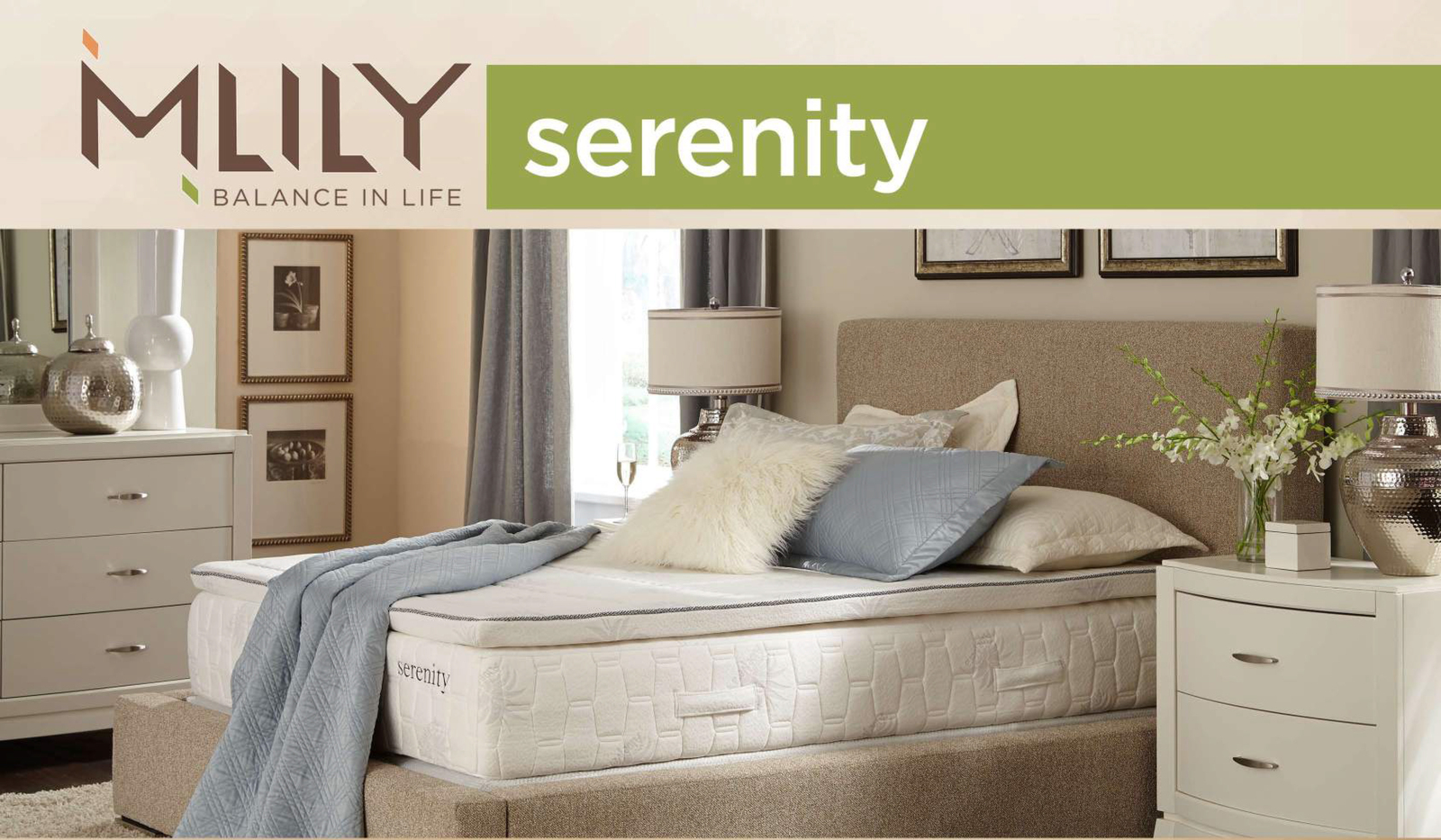 MLILY Memory Foam Mattress - Serenity - King