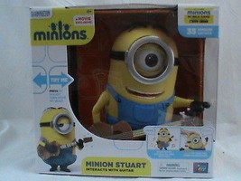 Thinkway Toys Minions Stuart Interacts With Gui... - $37.39