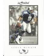 2004 Fleer Inscribed #39 Steve McNair  - $0.50