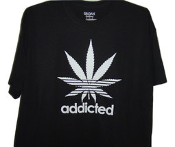 """Free Shipping Funny Black T/shirt """" Addicted with plant"""" all sizes. - $15.99+"""