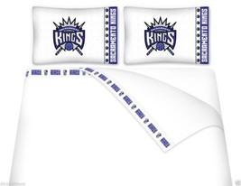Microfiber Sheet Set - NBA SACRAMENTO KINGS - TWIN FULL QUEEN - $70.53+