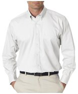 Van Heusen Mens Long Sleeve Dress Twill Shirt, ... - $24.88