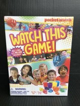 Pocket Watch: Watch This Game! Dice Game - Unopened With Dent In The Box -AU - $9.99