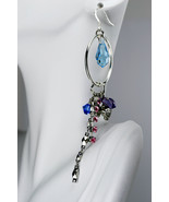 Swarovski crystal hoop & dangle earrings - $40.00