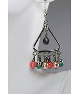 Swarovski crystal pearl & crystal dangle earrings - $38.00