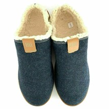 Timberland Men's Torrez Scuff Dark Navy Wool Faux fur Slippers loafers ALL SIZES - $59.99