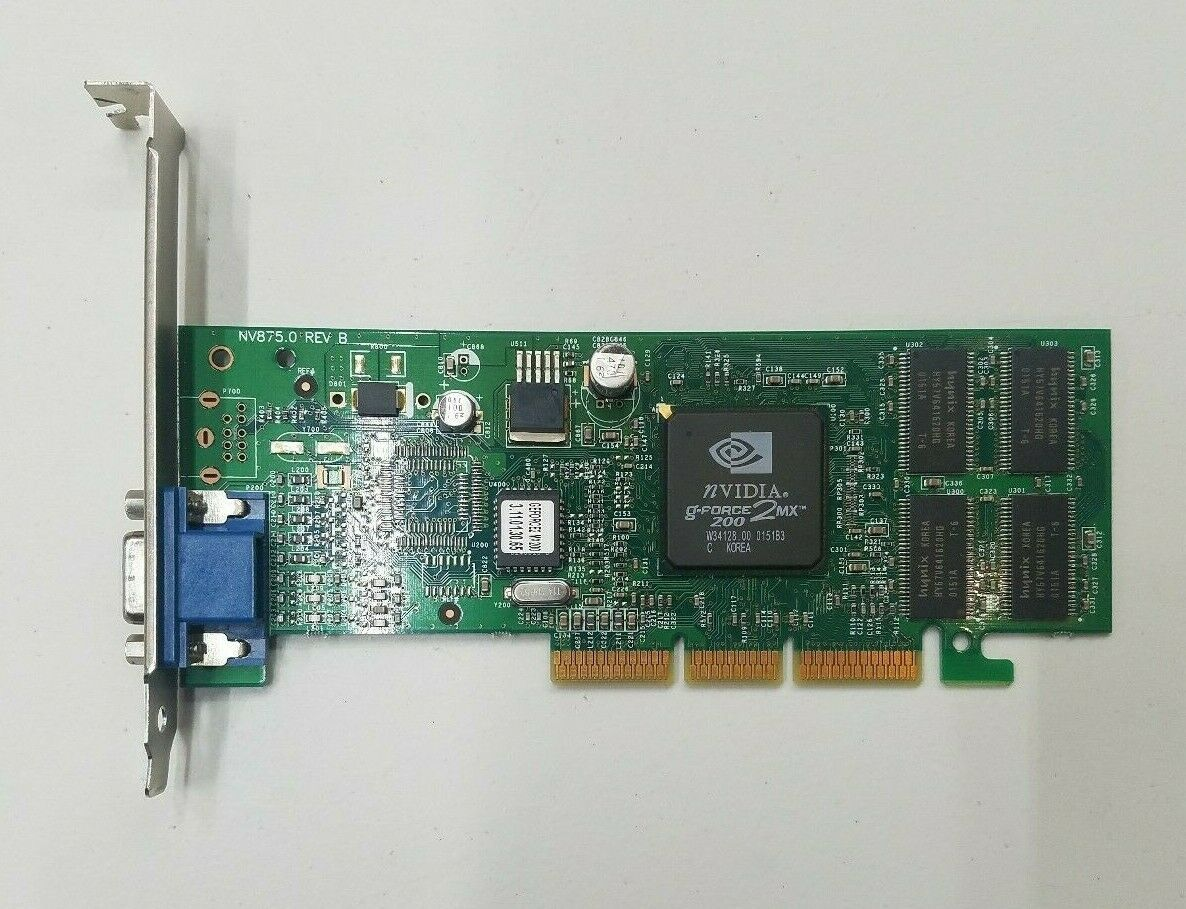 Primary image for Nvidia Gforce 2MX 200 W3412800 01511B3